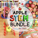 Apple Science Experiments and Autumn STEM Activities BUNDLE Distance Learning