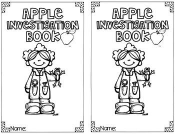 Apple Science Investigation {Mini Book}