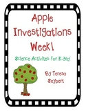 Apple Science Investigations