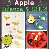 Apple Science & STEM, Parts of an Apple Word Wall Cards &