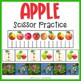 Apple Scissor Practice   Cutting Strips