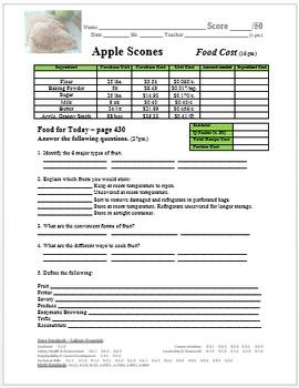 Apple Scones Lab