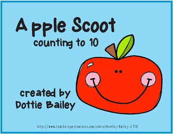 Apple Scoot - Counting through 10
