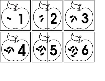 Apple Seed 1:1 Correspondence Match