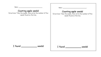 Apple Seed Counting