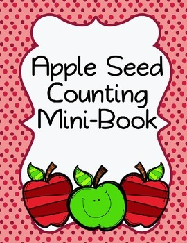 Apple Seed Counting Mini-Book