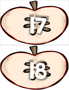 Apples ! Apple Seed Number Sense within 20 Center