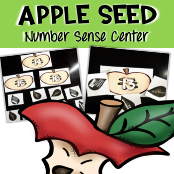 Math Center - Apple Seed Number Sense within 20