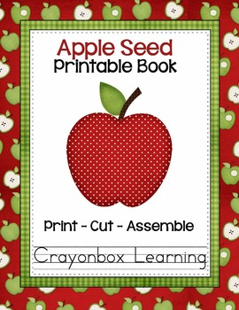 Apple Seed Printable Booklet
