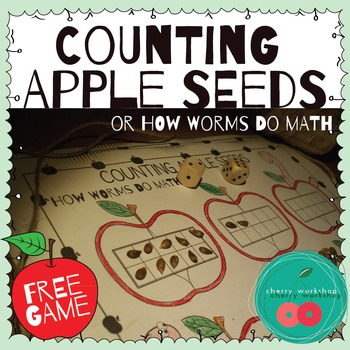 Apple Seeds Counting {or How Worms Do Math} FREE GAME
