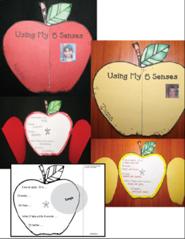 Apple Sense: Science & Writing Craftivities