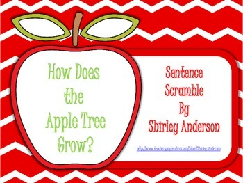 Apple Sentence Scramble