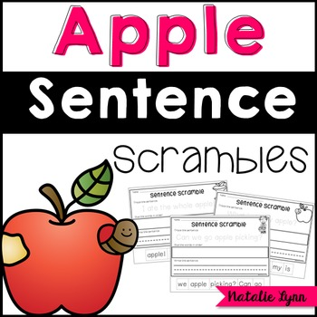 Apple Sentence Scrambles