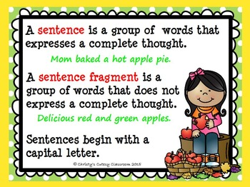 Apple Sentence Sort