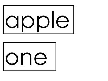 Apple Sentences