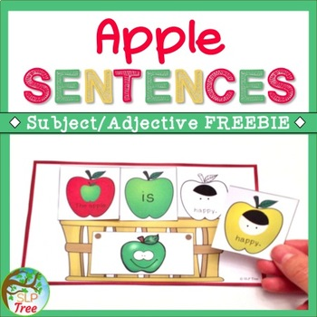 Apple Sentences Subject/Adjective Free