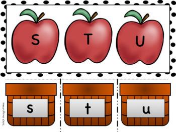 Apple/ September Alphabet Matching Center