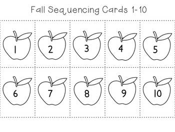 Apple Sequencing Cards