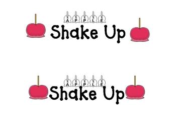 Apple Shake Up