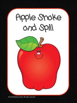 Apple Shake and Spill