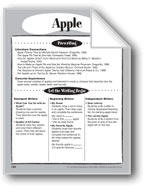 Apple Shape Book