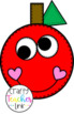 Apple Shape Craft