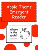 Apple Shape Emergent Reader