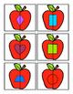 Apple Shape Matching Puzzels