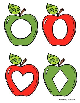 Apple Shape Puzzles