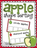 Apple Shape Sorting