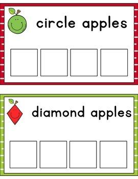 Apple Shape Sorting