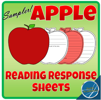 Apple Shaped Reading Response Sampler - FREE!