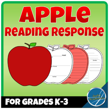 Apple Shaped Reading Response Sheets for Any Book