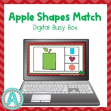 Apple Theme | Digital Shapes Activity