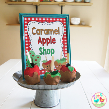 Apple Shop Pretend Play Sign
