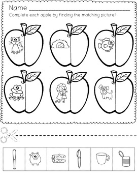 Apple Short Vowel Rhyming Fun