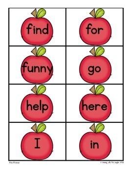 Sight Word Activities APPLES!