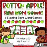 Apple Sight Word Games