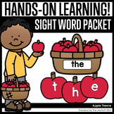 Apple Sight Word Packet