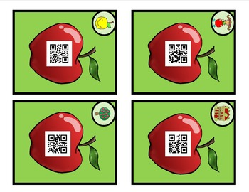 Apple Sight Word QR Codes