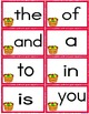 Apple Theme Sight Words Activities (High Frequency Words L
