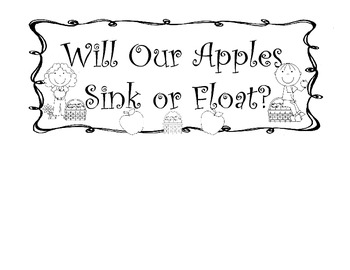 Apple Sink and Float