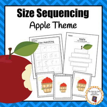 Apple Size Sequencing Activitites