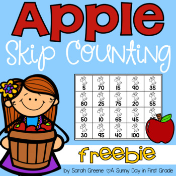 Apple Skip Counting! {freebie}