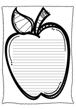 Apple Small Spaced Writing