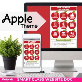 apple smart class website doc google slides style tpt