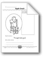 Apple Snack (adjectives to describe taste)