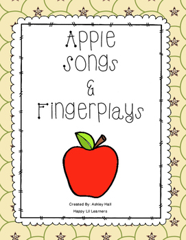 Apple Songs & Fingerplays