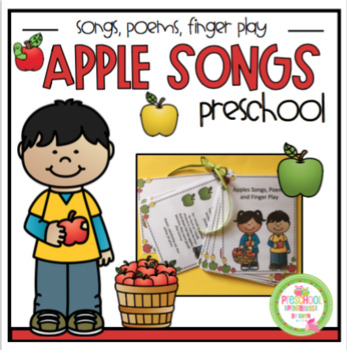 Apple Songs, Poems and Finger Play Cards