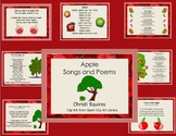Apple Songs and Poems  (SMARTBoard Notebook)